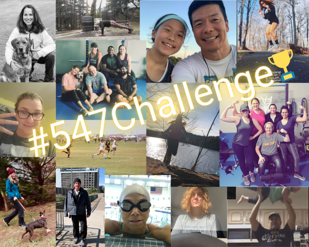 Participants in the #547 Challenge